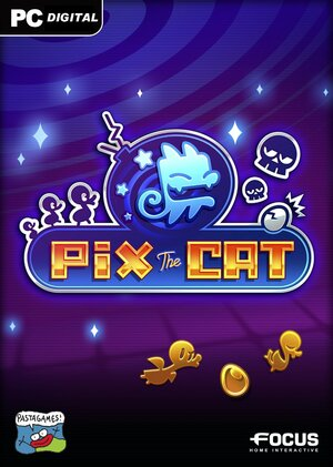 Cover for Pix the Cat.