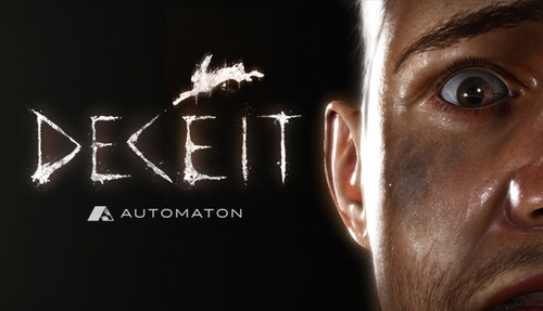 Cover for Deceit.