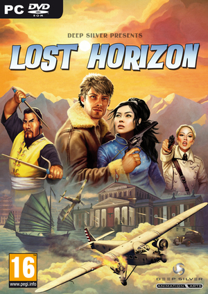 Cover for Lost Horizon.