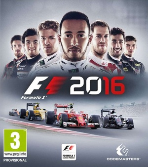 Cover for F1 2016.