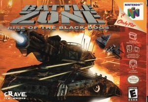 Cover for Battlezone: Rise of the Black Dogs.