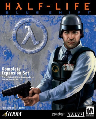 Cover for Half-Life: Blue Shift.