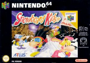 Cover for Snowboard Kids.