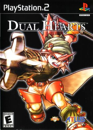 Cover for Dual Hearts.