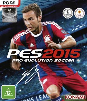 Cover for Pro Evolution Soccer 2015.