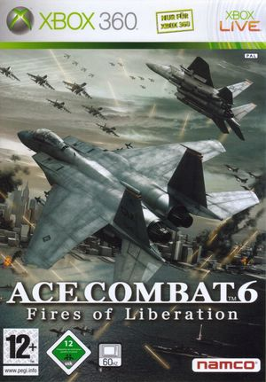 Cover for Ace Combat 6: Fires of Liberation.
