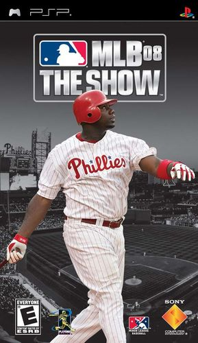 Cover for MLB 08: The Show.