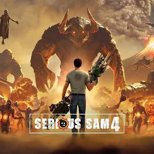 Cover for Serious Sam 4.